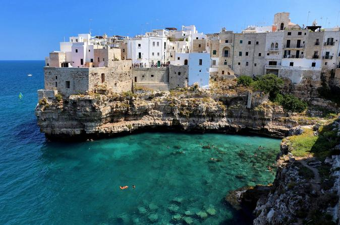 Depart to Puglia, Italy for eightdays